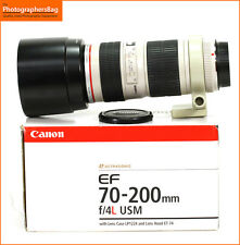 Canon EF 70-200mm F4L USM Zoom L Series Lens for EOS SLRs + Free UK Post