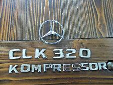2005 Mercedes Benz CLK 320 Kompressor Emblem Set