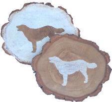 Australian Shepherd Coaster Reclaimed Wood
