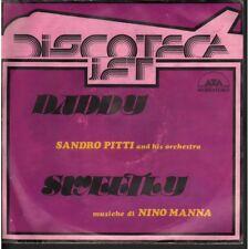 "Sandro Pitti Vinile 7"" 45 Giri Daddy - Sweetly / Ata Records ND 895 Nuovo"