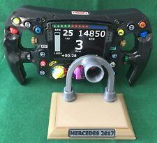 Lewis Hamilton réplica de tamaño completo W08 volante _ F1 _ campeón del mundo _ mercedes