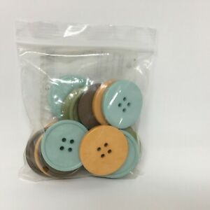 Stampin Up Designer Buttons - SPICE CAKE - Retired  124113