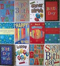 Buy for men cards stationery for greeting cards ebay male mens contemporary birthday greeting cards for him 12 pack m4hsunfo