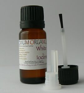 Decolourised White Iodine Alopecia,Nails brush+Dripper
