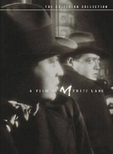 M (DVD 2004) NEW & SEALED