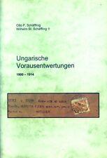 Ungarn Broschüre Ungarische Vorausentwertungen 1900 -1914