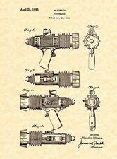 Patent Print - Space Patrol Atomic Pistol - 1952 Marx Toys. Ready To Frame!