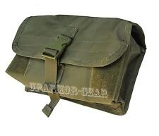 Tactical MOLLE Modular Vest Gas Mask / Drum Mag Pouch OD (CONDOR MA11)