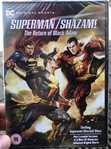 Superman/Shazam!: The Return Of Black Adam DC Action Superheroes Animation DVD