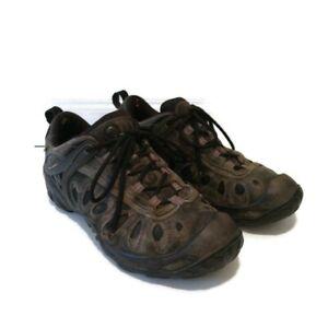 Merrell Vibram Men's Size 10 Hiking Trail Shoes Gray Waterproof