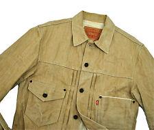 Levi's Type I Buckleback Tan Trucker Jacket Slim Med Unreleased Prototype Sample