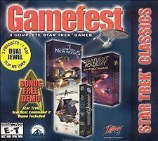 Gamefest: Star Trek Classics Dual Jewel (PC, 2001)
