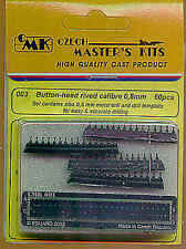 Czech Master Button-headed Rivets 0.8mm x 60 # 003