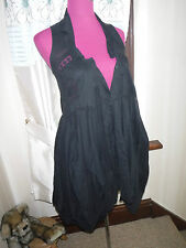 Stunning All Saints Echo Dress Black Size 6 Excellent Condition