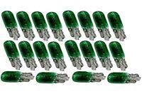 20 ampoules T5 1.2W 12V W1.2W W2X4.6D vert veilleuses tableau de bord pour auto