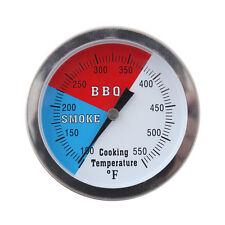 "3.15"" RWB BBQ Charcoal Grill Wood Smoker Oven Pit Temp Gauge Thermometer"