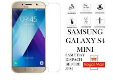 Super Hardened, Tempered Glass Screen Protector For Samsung Galaxy S4 Mini