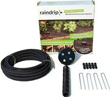 Raindrip 4 Port Adjustable Soaker Hose Kit