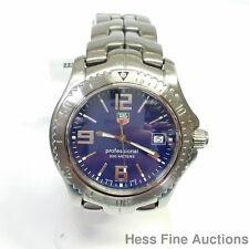 Mens Tag Heuer Professional 200 Meters Date WT1111 Steel Watch