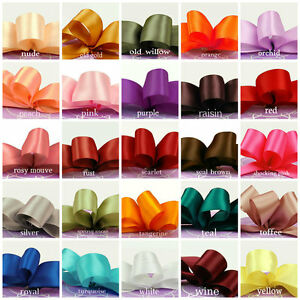 satin ribbon 7/8 inch wide select color price for 8 yards