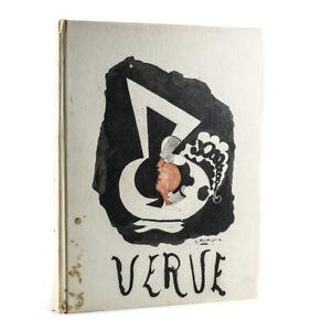 VERVE Revue artistique et litteraire - Directeur: Teriade 1952 Chagall Braque