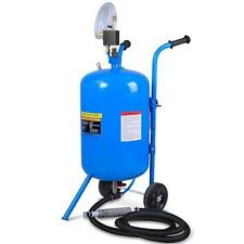 100lb Portable Soda Pressure Abrasive Air Sandblaster Upgrade Surface Cleaner