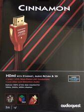 Aaudioquest HDMI cinnamon 3m cable