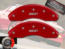 """2011-2013 Chevy Cruze Eco LS LT Front Red """"MGP"""" Brake Disc Caliper Covers 2pc"""