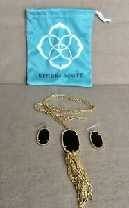 Kendra Scott Jewelry | Kendra Scott Rayne Long Pendant Necklace Hot & Earrings