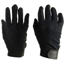 Dublin Track Womens Gloves Everyday Riding Glove - Black All Sizes Medium