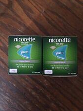QUICK SALE. 2 X nicorette 2mg original gum 210. Exp 08/20. Not Opened.