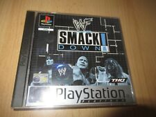 WWF SmackDown  Sony PlayStation 1 ps1 pal mint collectors