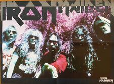 ⭐⭐⭐⭐   Waltari  ⭐⭐⭐⭐  Iron Maiden  ⭐⭐⭐⭐  1 Poster 40 cm x 55 cm  ⭐⭐⭐⭐