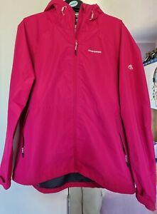 Ladies Craghoppers Waterproof Summer Jacket Size 16