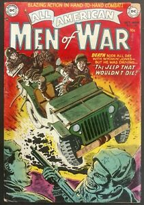 ALL-AMERICAN MEN OF WAR #128 1952 REALLY #2! SOLID VG 4 GREAT STORIES KRIGSTEIN