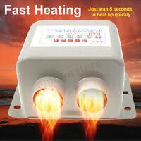 24V 600W Car Van Fan Heater Defroster Demister Heating Warmer Defrost Windscreen