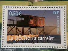 FRANCE 2003 timbre 3560 REGIONS, PECHE AU CARRELET, neuf**, VF MNH STAMP