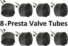 8 x 700c 18/25C Presta valve intérieur CYCLE TUBE 700 18C 19C 20c 21c 22c