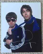 NOEL GALLAGHER SIGNED 8X10 IN PERSON OASIS