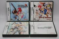 Nintendo DS Tales of the Tempest Innocence Hearts (Anime & CG) 4Games Japan NDS