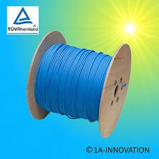 Solarkabel KBE 4mm² 500m Meter TÜV erdverlegbar Kabel Solaranlage blau Trommel