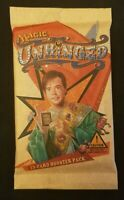 MTG Unhinged Factory Sealed Booster Pack - English Magic the Gathering