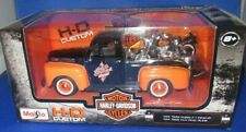 MAISTO H-D CUSTOM MOTOR CYCLES HARLEY DAVIDSON 1948 FORD F-1 PICKUP, BOX DENTED
