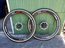 FSA SLK Tubular Wheel Set W/Tires 15x100/12x142 Thru Axle