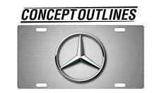 Mercedes Benz Premium Aluminium License Plate Tag Custom For Car Room TMCW