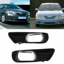 For Toyota Camry 2007-2009 Front Bumper Lower Fog Light Trim Bezel Cover RH+LH