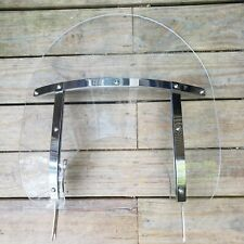 """Harley Davidson Detachable Windshield Used Clear 15"""" GREAT Condition"""