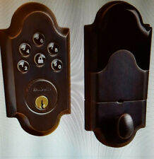 Baldwin 8252.112.AC1 Boulder Keyless Entry Single Cylinder Venetian Bronze