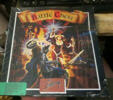 Interplay Battle Chess Video Game IBM PC 5.25 Disks 3.5 Discs Manual Instruction