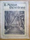 ANTIGUA REVISTA AÑO 1904 MUNDO CIENTIFICO,SORPRENDENTES NOTICIAS,PUBLICIDAD.207